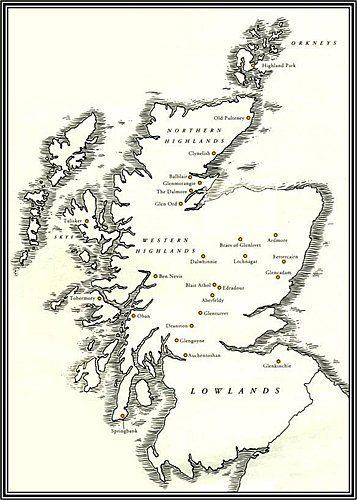 Scotland's whisky regions
